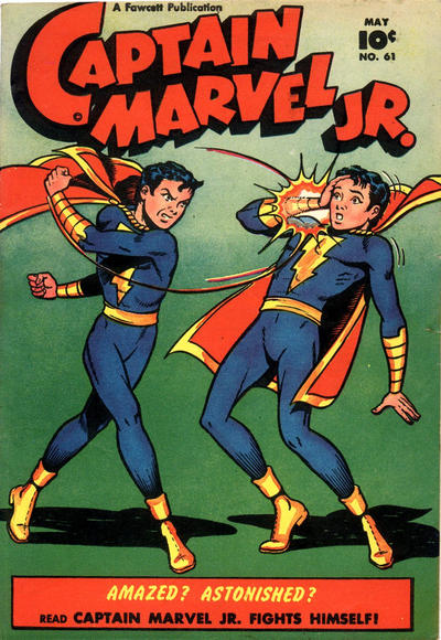 Cover for Captain Marvel Jr. (Fawcett, 1942 series) #61