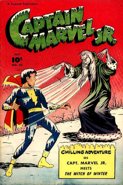 Cover for Captain Marvel Jr. (Fawcett, 1942 series) #63