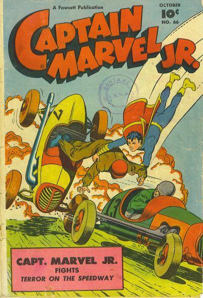 Cover for Captain Marvel Jr. (Fawcett, 1942 series) #66