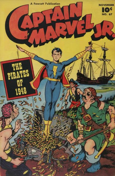 Cover for Captain Marvel Jr. (Fawcett, 1942 series) #67