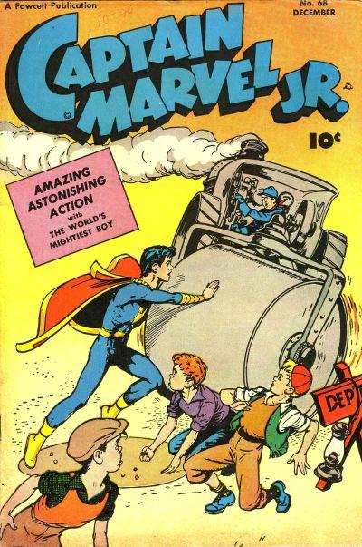 Cover for Captain Marvel Jr. (Fawcett, 1942 series) #68
