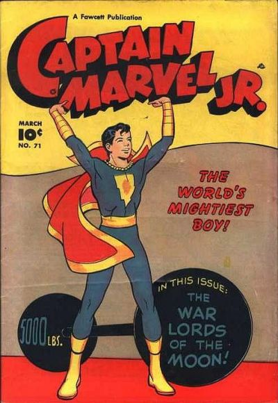 Cover for Captain Marvel Jr. (Fawcett, 1942 series) #71