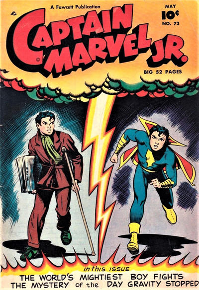 Cover for Captain Marvel Jr. (Fawcett, 1942 series) #73