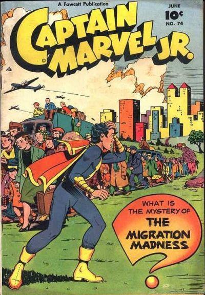Cover for Captain Marvel Jr. (Fawcett, 1942 series) #74