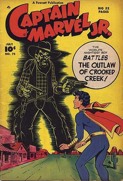 Cover for Captain Marvel Jr. (Fawcett, 1942 series) #75