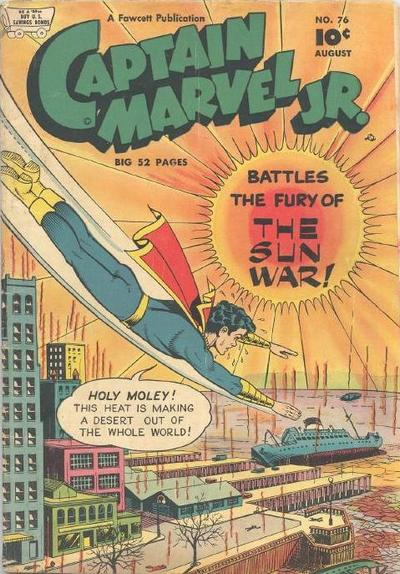 Cover for Captain Marvel Jr. (Fawcett, 1942 series) #76