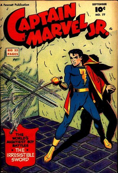 Cover for Captain Marvel Jr. (Fawcett, 1942 series) #77