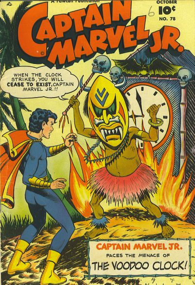 Cover for Captain Marvel Jr. (Fawcett, 1942 series) #78