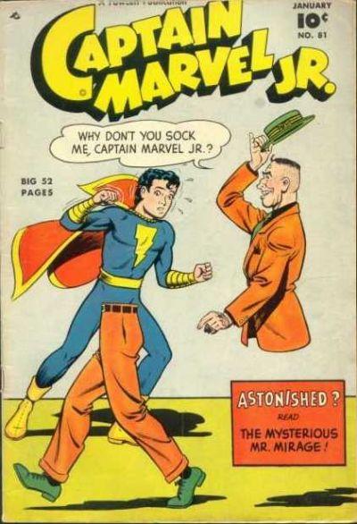 Cover for Captain Marvel Jr. (Fawcett, 1942 series) #81
