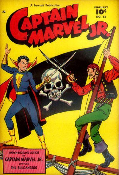 Cover for Captain Marvel Jr. (Fawcett, 1942 series) #82
