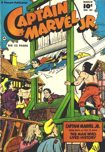 Cover for Captain Marvel Jr. (Fawcett, 1942 series) #83