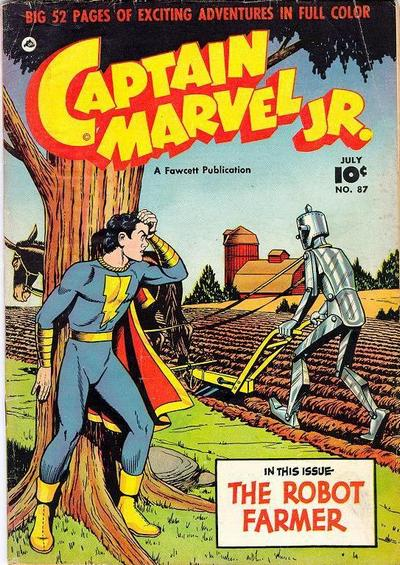 Cover for Captain Marvel Jr. (Fawcett, 1942 series) #87