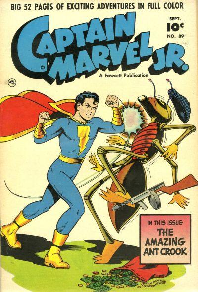 Cover for Captain Marvel Jr. (Fawcett, 1942 series) #89