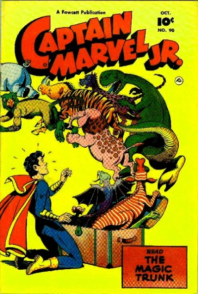 Cover for Captain Marvel Jr. (Fawcett, 1942 series) #90