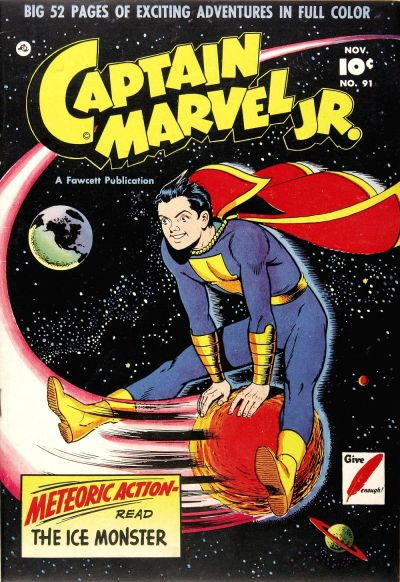 Cover for Captain Marvel Jr. (Fawcett, 1942 series) #91