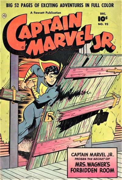 Cover for Captain Marvel Jr. (Fawcett, 1942 series) #92