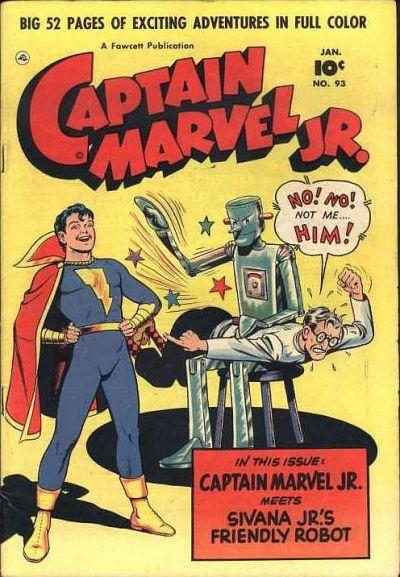 Cover for Captain Marvel Jr. (Fawcett, 1942 series) #93