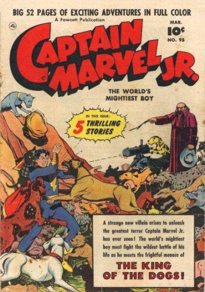 Cover for Captain Marvel Jr. (Fawcett, 1942 series) #95