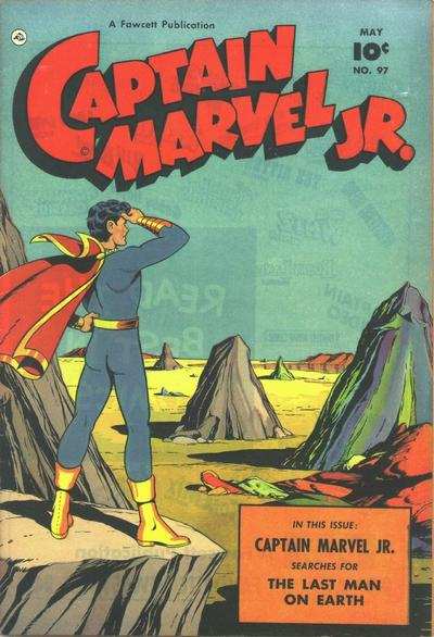 Cover for Captain Marvel Jr. (Fawcett, 1942 series) #97