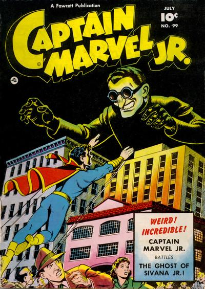 Cover for Captain Marvel Jr. (Fawcett, 1942 series) #99
