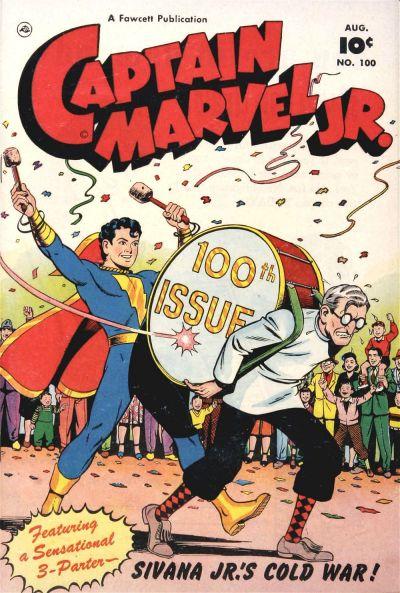 Cover for Captain Marvel Jr. (Fawcett, 1942 series) #100