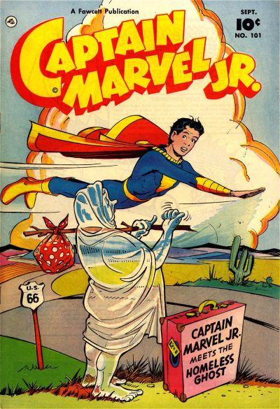 Cover for Captain Marvel Jr. (Fawcett, 1942 series) #101