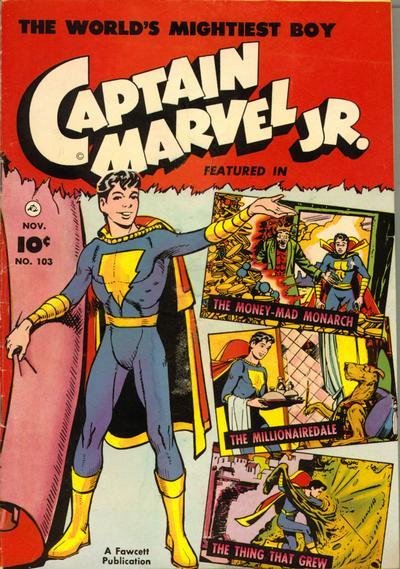 Cover for Captain Marvel Jr. (Fawcett, 1942 series) #103