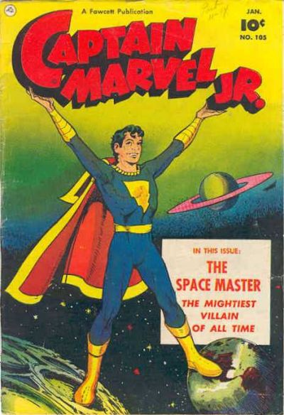 Cover for Captain Marvel Jr. (Fawcett, 1942 series) #105