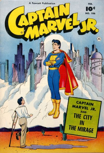 Cover for Captain Marvel Jr. (Fawcett, 1942 series) #106