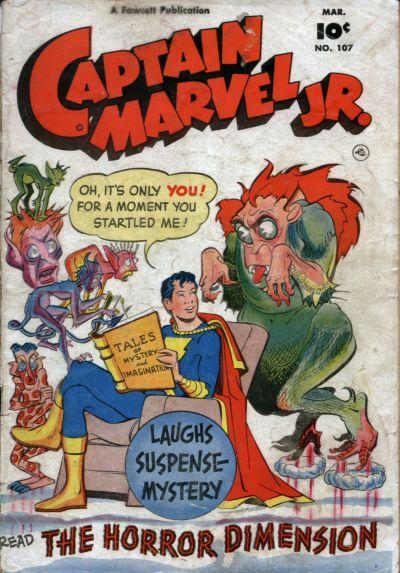 Cover for Captain Marvel Jr. (Fawcett, 1942 series) #107