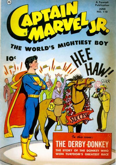 Cover for Captain Marvel Jr. (Fawcett, 1942 series) #110