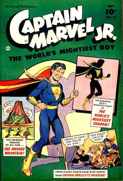 Cover for Captain Marvel Jr. (Fawcett, 1942 series) #113