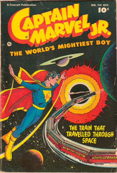 Cover for Captain Marvel Jr. (Fawcett, 1942 series) #114