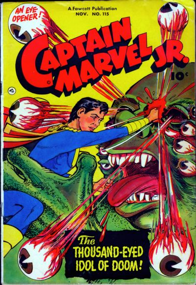 Cover for Captain Marvel Jr. (Fawcett, 1942 series) #115
