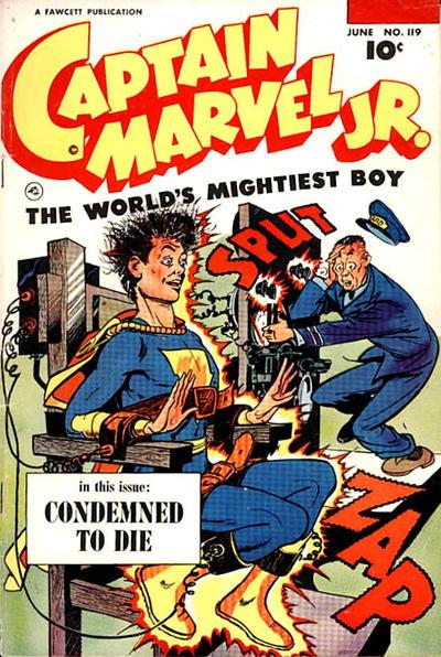 Cover for Captain Marvel Jr. (Fawcett, 1942 series) #119