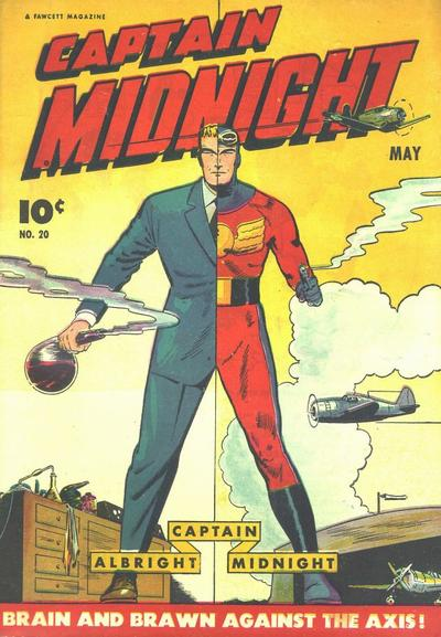 Cover for Captain Midnight (Fawcett, 1942 series) #20