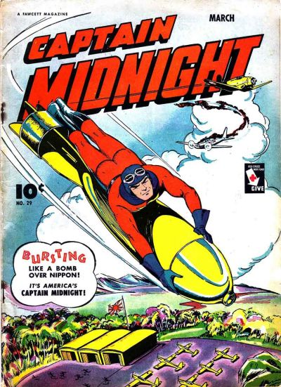 Cover for Captain Midnight (Fawcett, 1942 series) #29