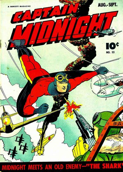 Cover for Captain Midnight (Fawcett, 1942 series) #33