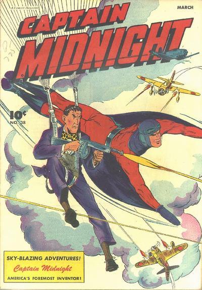 Cover for Captain Midnight (Fawcett, 1942 series) #38