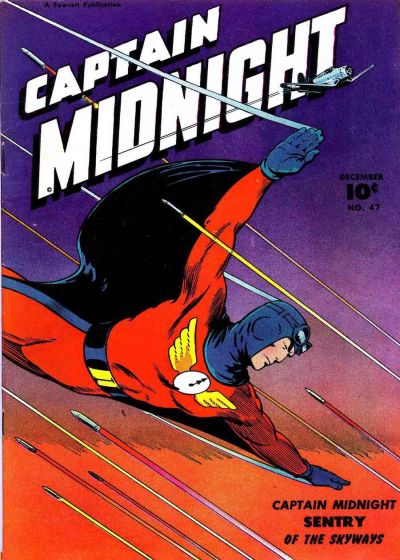 Cover for Captain Midnight (Fawcett, 1942 series) #47