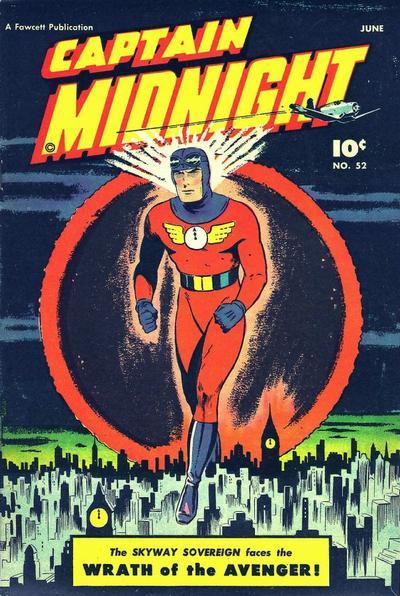 Cover for Captain Midnight (Fawcett, 1942 series) #52