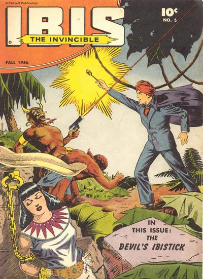 Cover for Ibis (Fawcett, 1943 series) #5