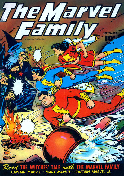 Cover for The Marvel Family (Fawcett, 1945 series) #4
