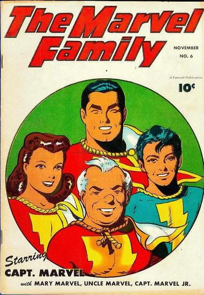 Cover for The Marvel Family (Fawcett, 1945 series) #6