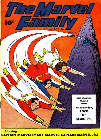 Cover for The Marvel Family (Fawcett, 1945 series) #7