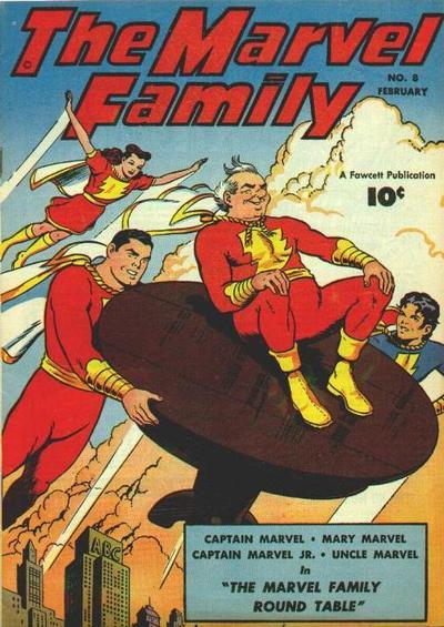 Cover for The Marvel Family (Fawcett, 1945 series) #8