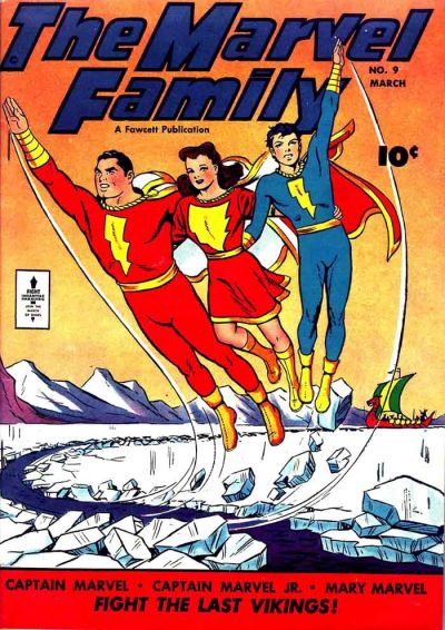 Cover for The Marvel Family (Fawcett, 1945 series) #9