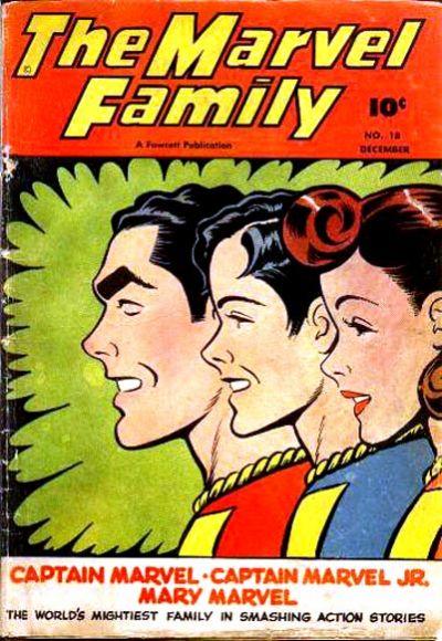 Cover for The Marvel Family (Fawcett, 1945 series) #18