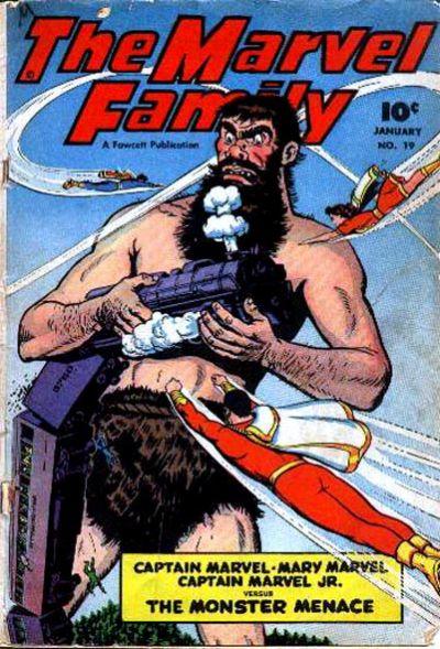 Cover for The Marvel Family (Fawcett, 1945 series) #19