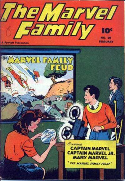 Cover for The Marvel Family (Fawcett, 1945 series) #20